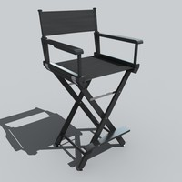 directors chair 3d 3ds