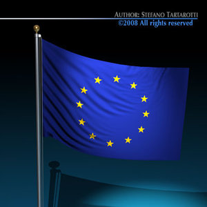 european union flag dxf