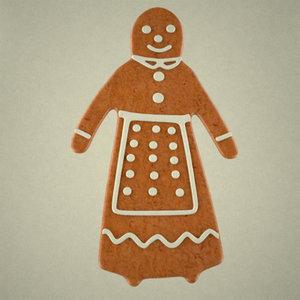 gingerbread woman 3d x