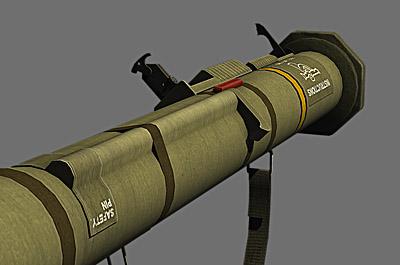 m136 at4 anti tank 3d obj