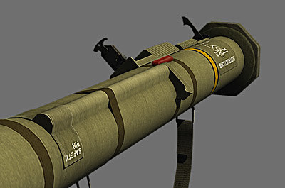 m136 at4 anti tank 3d obj