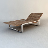 design lounger garden 3d model