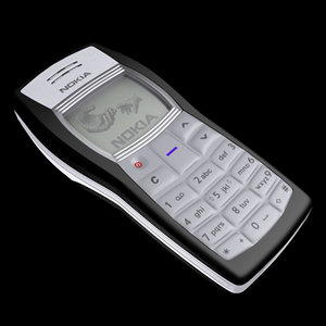 nokia mobile 1100 3d 3ds