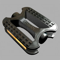 3ds max bike pedal