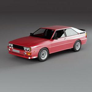 3d 4x4 coupe model