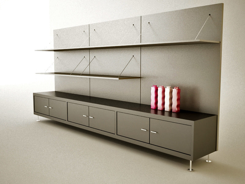 3ds wall unit