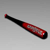 3d model baseball bat 5