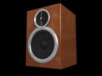 blender speaker wooden