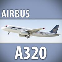 3ds max airbus a320 taca