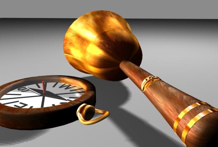 3d compass bell model