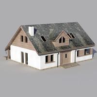 house architecture 3d 3ds