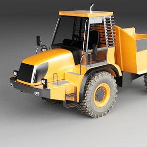 3d articulated truck