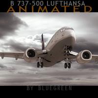 Boeing 737-500 Lufthansa (A)