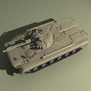 bmp-3 russian russia 3d model