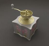 free grinder 3d model