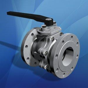 flanged ball valve 3d max