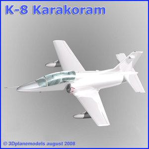 lightwave training jet k-8 karakorum