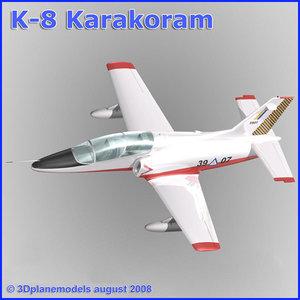maya training jet k-8 karakorum
