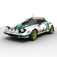 Lancia Stratos rallycar