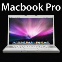 apple macbook pro 3d 3ds