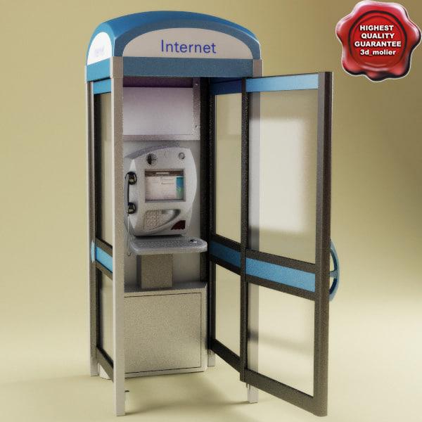 marconi neptune 800 internet 3d model