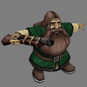of fantasy warrior - dwarf