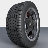 wheel rim 3d max