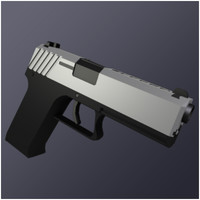 45 handgun generic auto 3ds