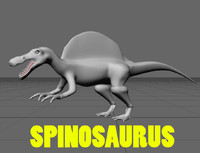 Spinosaurus Egypticus Dinosaur