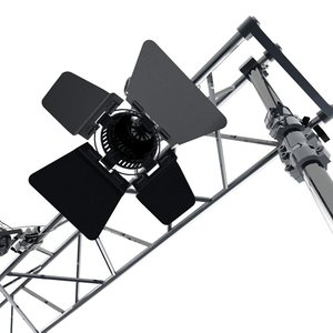 3d studio lights fresnel ramp model