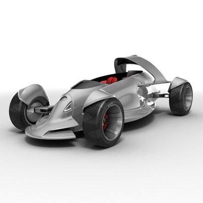 toyota mtrc conceptcar 3d model