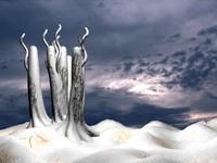 land snow 3d model