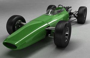 3d f1 car model