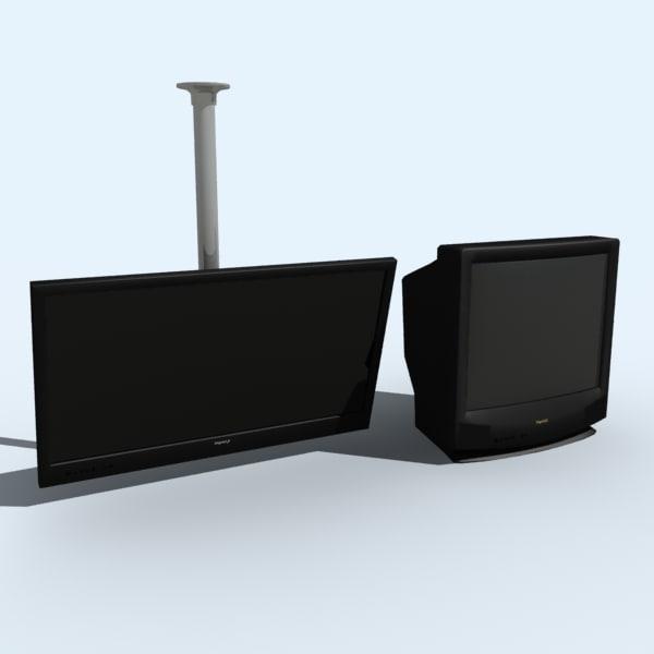 bar tvs 3d model