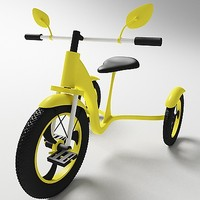 3d model tricycle