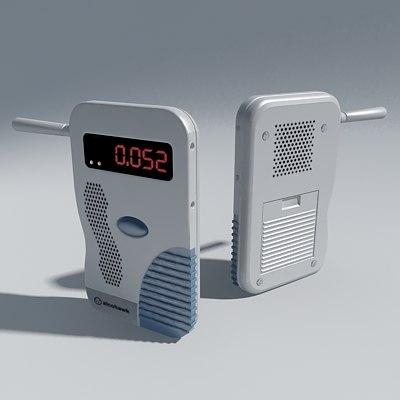 3d model breath tester