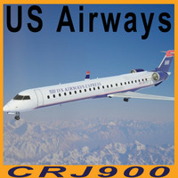 3d model crj 900 airways crj900