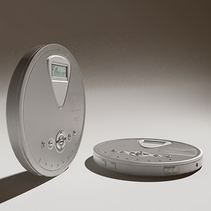 3d model cd player