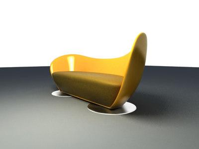 Max Organic Curvy Sofa