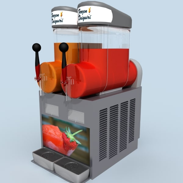 daiquiri machine 3d model