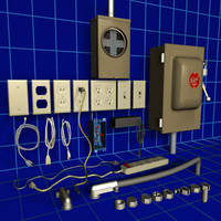 Electrical Supplies 01 Collection