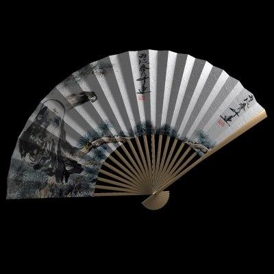 3d model chinese sunfan