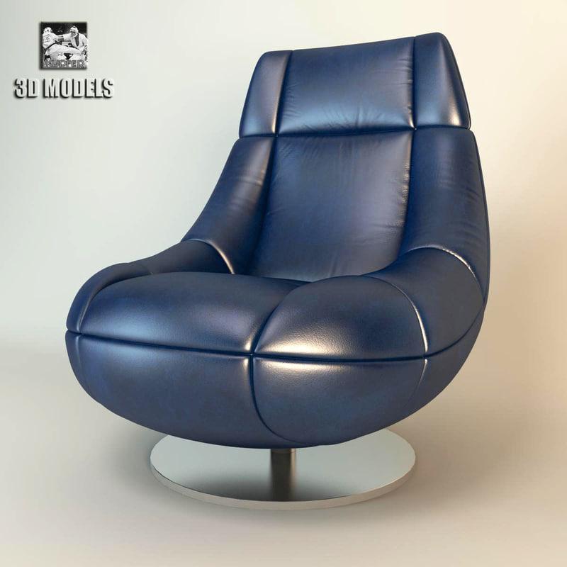 3d model futurechair chair