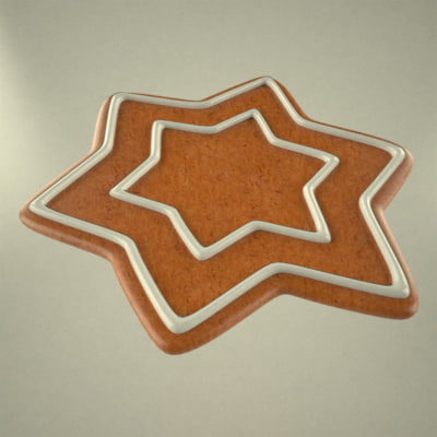 gingerbread star 3ds