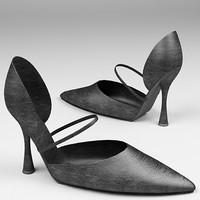 3d heels model