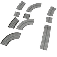 3d model highway parts