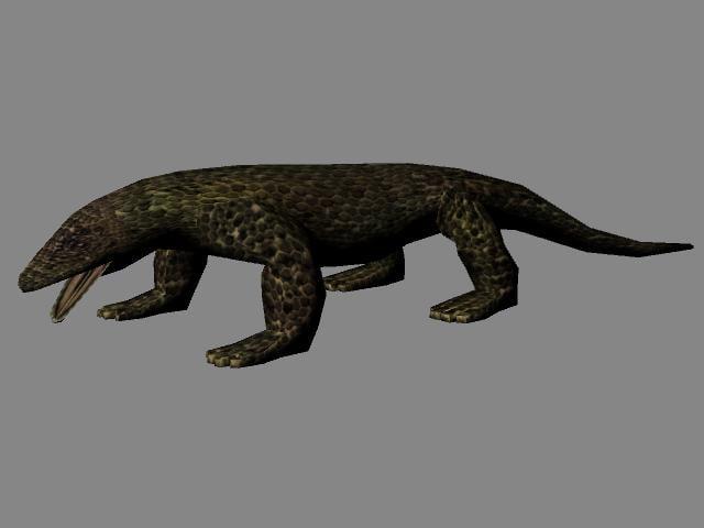 maya komodo dragon
