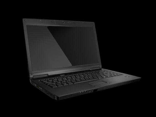 3d model laptop webcam dvd