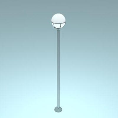 3d model streetlight light
