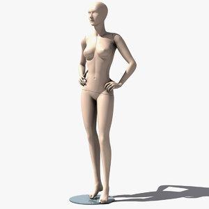 3d mannequin manequin human model